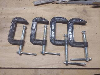 4  3  C clamps