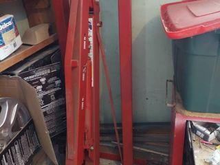 3000 lb Heavy Duty Mobile Crane   Engine Hoist