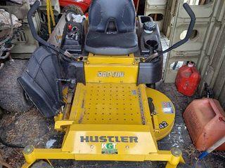 Hustler Raptor 42  ZTR lawnmower   10 3 Hours