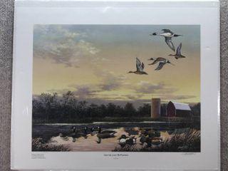Sunrise over McPherson   Art Print   Harold Roe   No Frame   19  x 23 5