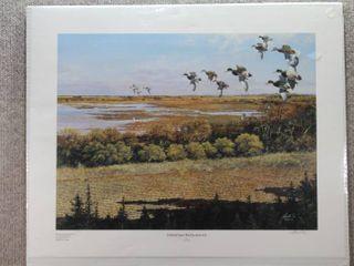 Jamestown Rediscovered   Art Print   Harold Roe   No Frame   19  x 23 5