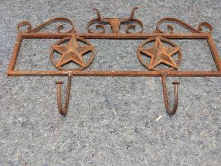 southwestern style metal hanger
