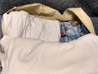 bag of blankets