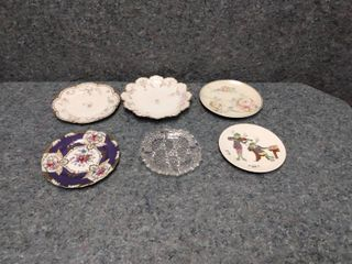 various different dishes could be collectors items
