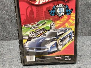 hot wheels car holding and carrying case