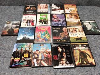 18 pre owned DVDs