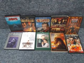lot of 10 DVD Movies