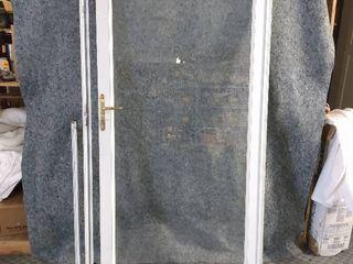 exterior storm door