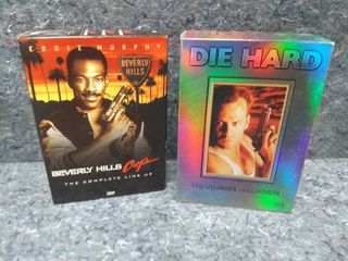 Die Hard and Beverly Hills Cop DVD Collections