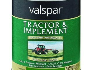 Valspar 4432 11 Oliver Green Tractor and Implement Paint   1 Quart