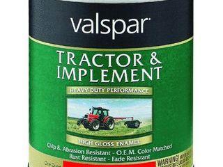 Valspar Tractor   Implement Enamel AlKYD AC ORANGE ENAMEl