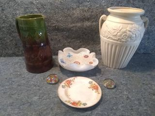 Assorted Decor Pieces   Vintage and Modern