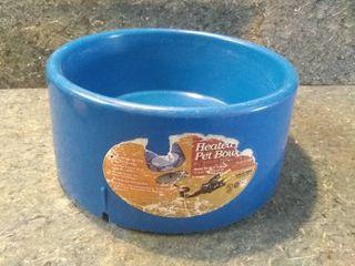 5 Quart Heated Pet Bowl