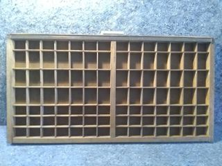 Wooden Shelf for Miniatures or Organizer Drawer