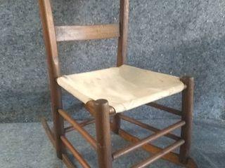 Vintage Child s Rocking Chair
