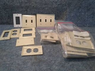 lot of Assorted Wall Plates  Outlet Switch Covers