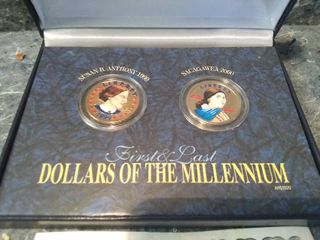 American Historic Society First and last Dollars of the Millennium