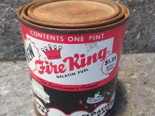Vintage Fire King Gelatin Fuel Can