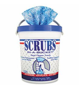 Scrubs   Antimicrobial Hand Sanitizer Wipes