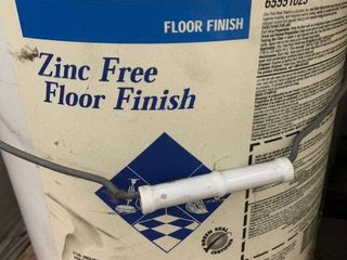 Ecolab   Zinc Free Floor Finish   5 Gallon