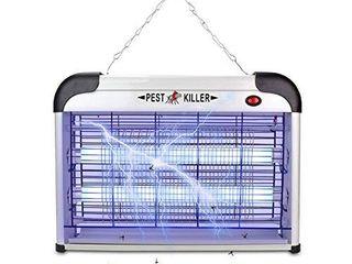 Electric Bug Zapper Pest Repeller Control Strongest Indoor 2800 Volt UV lamp Flying Fly Insect Killer Mosquitoes Flies Killer Repellent Traps Eliminator Catcher lure Zap Kills Mosquito