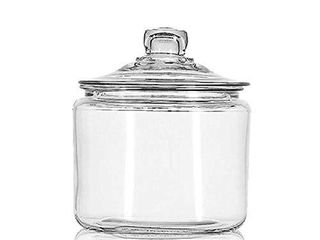 Anchor Hocking 3 Quart Heritage Hill Jar with Glass lid  Set of 1
