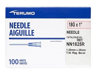 Terumo 23G x 1   0 60x25mm  100 Each Pack