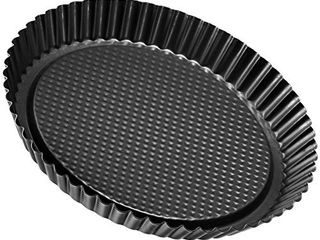 Zenker Non Stick Carbon Steel Flan Tart Pan  11 Inch  DENTED