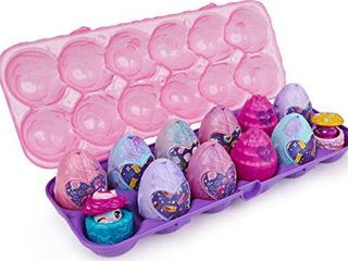 Hatchimals CollEGGtibles  Cosmic Candy limited Edition Secret Snacks 12 Pack Egg Carton  for Kids Aged 5 and up