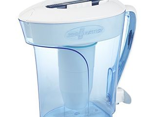ZeroWater ZP 010  10 Cup Water Filter Pitcher with Water Quality Meter