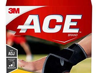 ACE 207248 Adjustable Ankle Support  Support to stiff  weak and injured ankles  One Size Fits Most 1Count Pack of 1