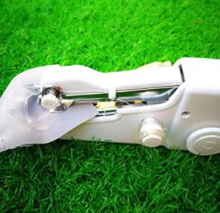 Portable Handy Stitch Battery Power Handheld Sewing Machine