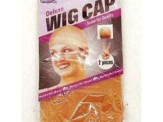 Nylon  Nude Wig Cap  2 Pack
