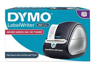 DYMO label Printer   labelWriter 450 Turbo Direct Thermal label Printer  Fast Printing  Great for labeling  Filing  Shipping  Mailing  Barcodes and More  Home   Office Organization