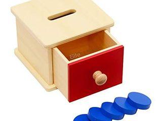 Elite Montessori Coin Box Preschool learning Material