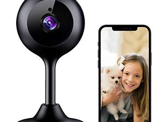 New Version MECO WiFi IP Camera 1080P HD Home Security Nanny Camera with Night Vision  Sound   Motion Detection  2 Way Audio  Compatible with Alexa  ONlY Support YI IoT App