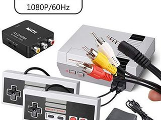 Classic Mini Retro Game Console with Built in 400 NES Games and 2 NES Controller AV and HDMI Output Children Gift Childhood Classic Game Please See Important tips Third party products