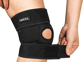 OMERIl Knee Brace  Knee Compression Sleeve Breathable Knee Pad for Men   Women  Knee Support for Arthritis Pain  Tendinitis Pain  ACl  Athletic Injury   1 pack