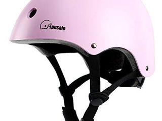 Apusale Toddler Kids Bike Helmets for boy Girls CPSC Certified 2 Size from Toddler to Youth Multi Sports
