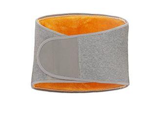 VORCOOl Men Women Winter Thicken Thermal Plush Waist Warmer lumbar Support Belt Cozy Warm Abdominal Protector Stomach Body Wrap Band Back Brace Kidney Binder Size M