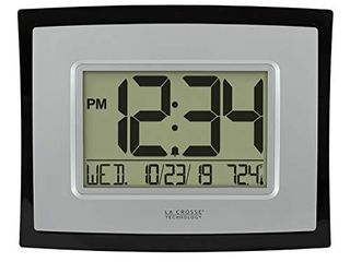 la Crosse Technology WT 8002U Digital Wall Clock