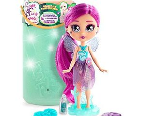 BFF Bright Fairy Friends Doll with Fairy Twinkle lights Wings  4 Surprise Doll Accessories and a Night light for Kids  Gift for Kids 3 years and Older