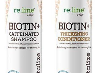 Biotin Shampoo and Conditioner for Hair growth Men Women Hair loss treatment   Caffeine Shampoo with Biotin for hair growth   Volume Shampoo Conditioner for Fine hair Thickening shampoo DHT blocker  Biotin Shampoo and Conditioner