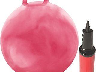WAlIKI Hopper Ball for Kids 3 6   Hippity Hop Ball   Jumping Hopping Ball   Bouncy Ball   Pink 18