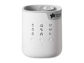 New Tommee Tippee 3 in 1 Advanced Bottle   Pouch Warmer  Breast Milk Safe  Formula Safe  Accurate Temperature Control  BPA Free   White