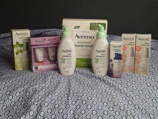Aveeno   lot of 8 Items