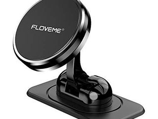 Magnetic Phone Car Mount   FlOVEME 360A Rotate Magnetic Cell Phone Holder for Car Dashboard Hands Free Phone Magnet Car Mount for iPhone 11 Pro Xs Max X XR 8 7 6 Samsung Note 10 9 S11 S10 S9 S8 Plus