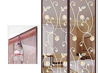 Mesh Screen Door with Magnets Door Screen Magnetic Closure with Multi Size and Patterns Door Screens with Magnets Heavy Duty 38 x 82