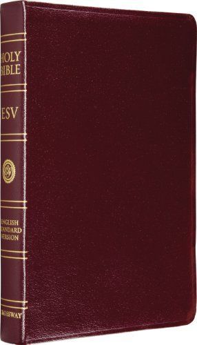 ESV Classic Reference Bible  Genuine leather  Burgundy  Red letter Text
