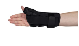 ADJUSTABlE WRIST AND THUMB SUPPORT